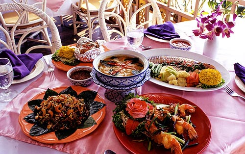 Ayutthaya hotels ayothaya riverside hotel the budget for Ayothaya thai cuisine